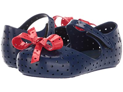 Mini Melissa Mini Furadinha XI (Toddler/Little Kid) (Blue/Red) Girls Shoes