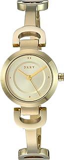 DKNY - Reloj de cuarzo para mujer con correa de acero inoxidable chapado en oro, 5 (modelo: NY2750)