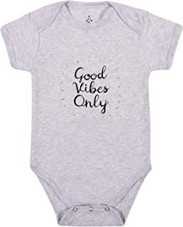Good Vibes Only Yoga Baby Organic Cotton Babies Clothes Onesie Onesies Baby Shower