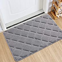 Indoor Doormat Front Door Mat Non Slip Rubber Backing Super Absorbent Mud and Snow Magic Inside Dirts Trapper Mats Large D...