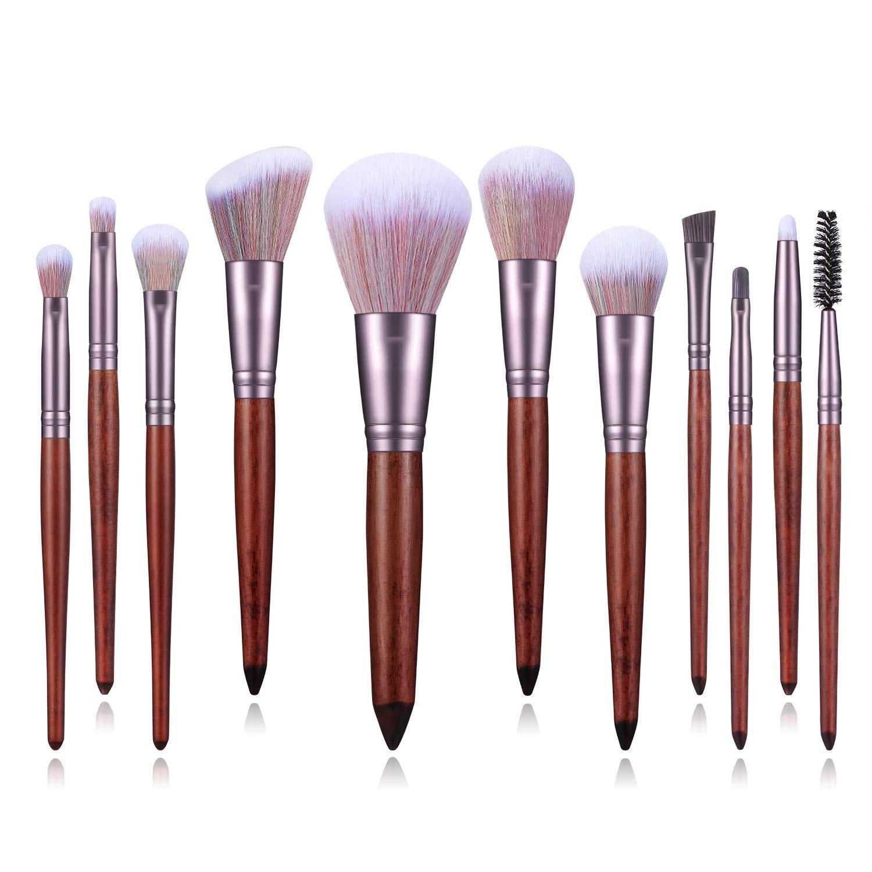 BANFI Sandalwood Handle Makeup Brushes Cosm Powder Rare set Eyeshadow Max 83% OFF