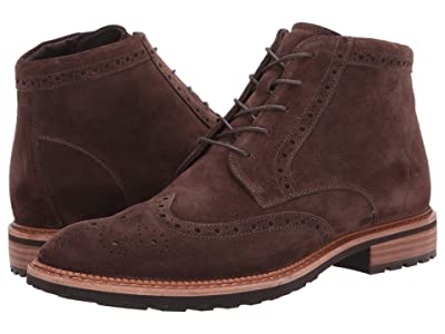 ECCO Vitrus I Wingtip Boot (Coffee) Men