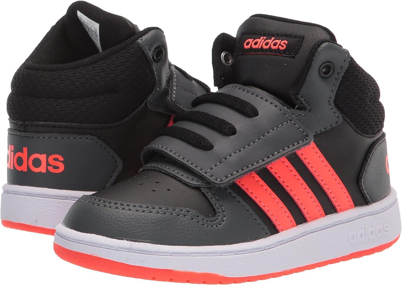 adidas Unisex-Child Hoops 2.0 Mid Basketball Shoe