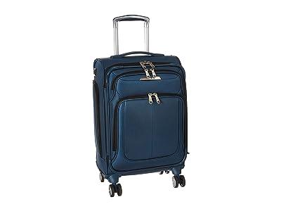 Samsonite Solyte DLX C/O Expandable Spinner (Meditarerranean Blue) Luggage