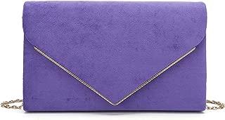 purple evening bags uk