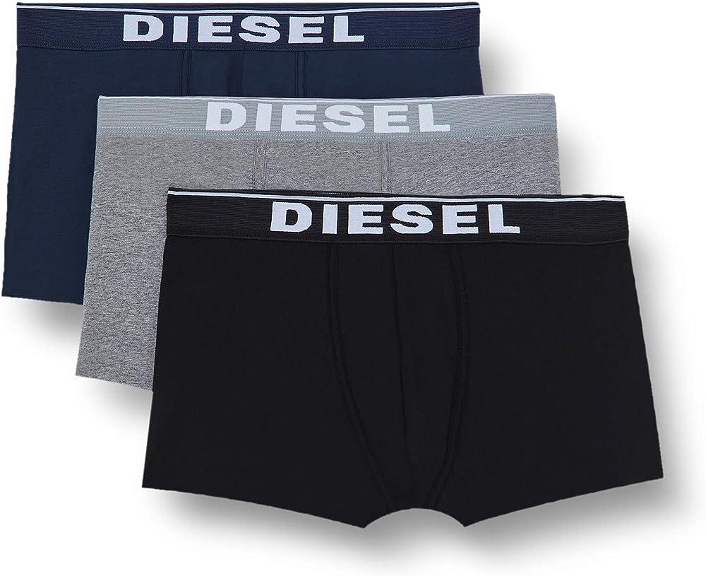 Diesel ,slip  per uomo,pacco da 3,in 95% cotone, 5% elastan 00ST3V0JKKBE4124