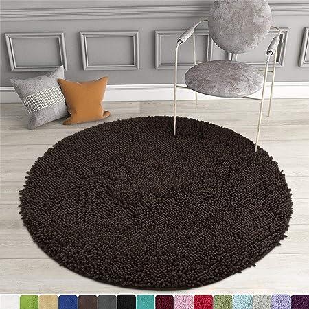 Absorbent Soft Shaggy Non Slip Bath Mat Bathroom Shower Home Floor Rugs Carpet