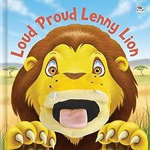 Loud Proud Lenny Lion (Hand Puppet Books)