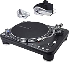 Audio Technica AT-LP1240-USB XP Direct-Drive Professional DJ Turntable (USB & Analog) with AT-XP7 DJ Cartridge and ATN-XP7 Elliptical Replacement Stylus
