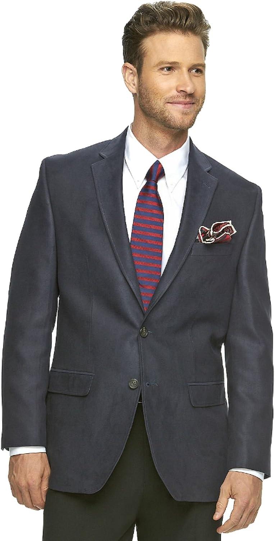 Chaps Men's Classic Fit Sport Faux SueedeSport Coat Suit Jacket