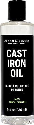 Caron & Doucet – Aceite de coco refinado para limpiar y acondicionar ollas y sartenes de