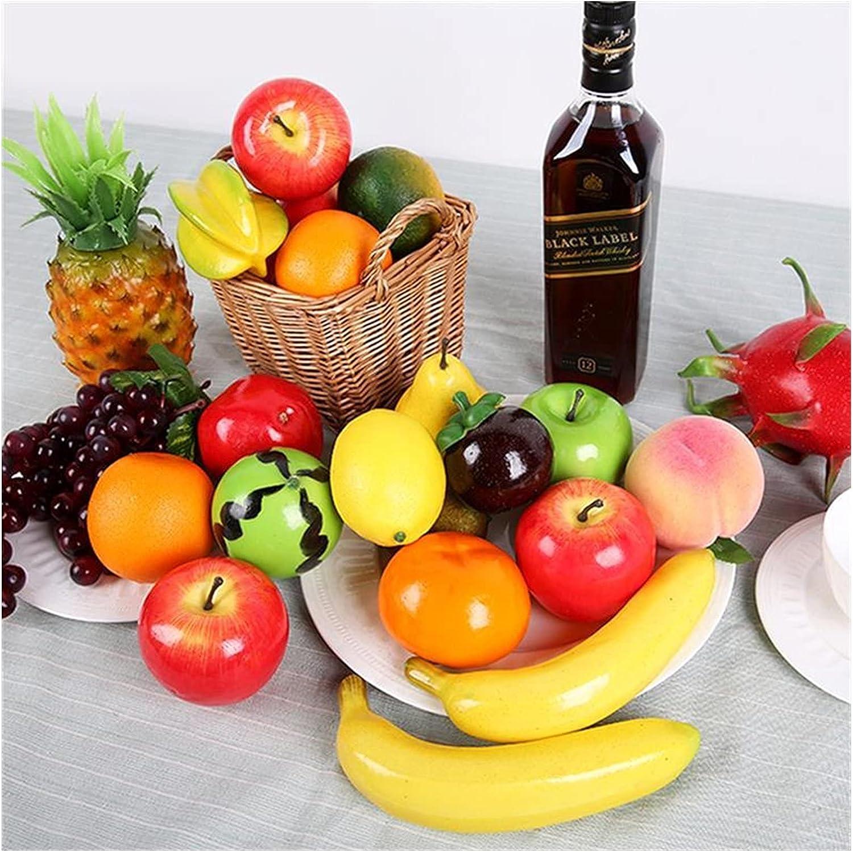 JSJJEDC Popular product Artificial Fruit 12PCS Mango Si Columbus Mall Fruits Orange