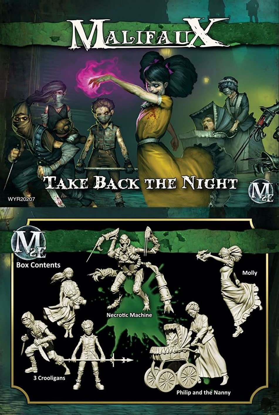 Wyrd Miniatures Resurrectionists: Take Back the Night - Molly Crew