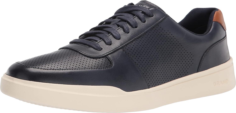 Cole 定番の人気シリーズPOINT(ポイント)入荷 Haan Men's Grand Modern Perforated 国内在庫 Crosscourt Sneaker