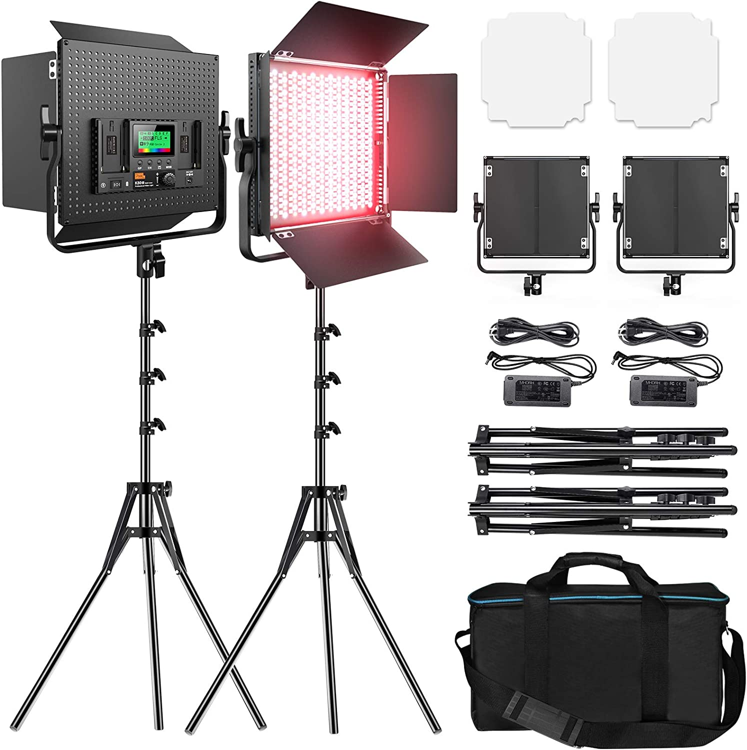 RGB Max 54% OFF Led Photography Lighting Pixel 2 Full Video Color Packs store