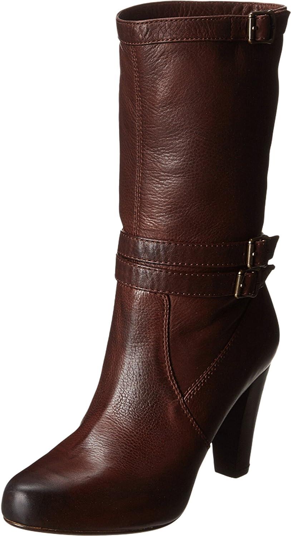 FRYE 76124 Women Marissa Slouch Dark Brown boot