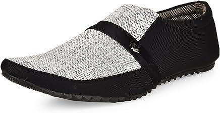 ESSENCE Men's Black Casual Shoes