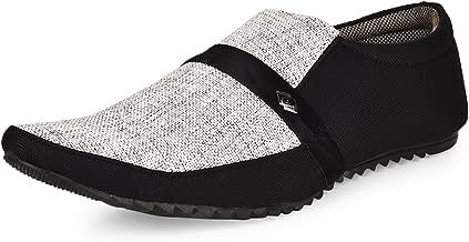 ESSENCE Men's Black Casual Shoes-9