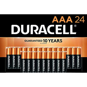 Duracell - CopperTop AAA Alkaline Batteries - Long Lasting, All-Purpose Triple A Battery for Household and Business - 72 Pack