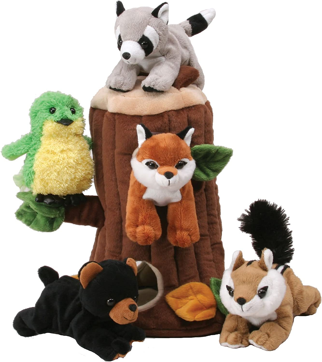 Plush Treehouse Mesa Mall with Animals Cheap mail order shopping - Forest Five 5 Stuffed