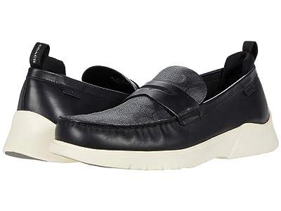 COACH Signature Hybrid Loafer (Black/Black) Men