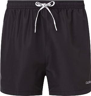 Calvin Klein Men's Short Runner-Packable Swim Trunks