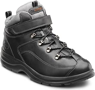 Dr. Comfort Women's Vigor Black Diabetic Hiking Boots