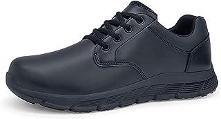 SHOES FOR CREWS Women's Saloon II Food Service Shoe, Black, 9 Medium US