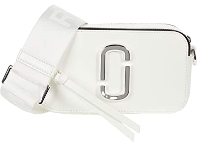Marc Jacobs Snapshot DTM (White) Handbags