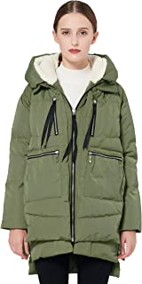 Women's Thickened Down Jacket Green L