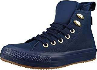 All Star Waterproof Hi Womens Sneakers Blue