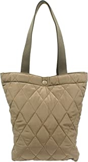 NUVELY Handbags Canvas Outdoor Multipurpose Daily Shoulder Tote Bag (Large Brown)