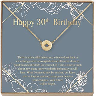 Dear Ava 30th Birthday Gift Necklace: Birthday Gift, Jewlery Gift for Her