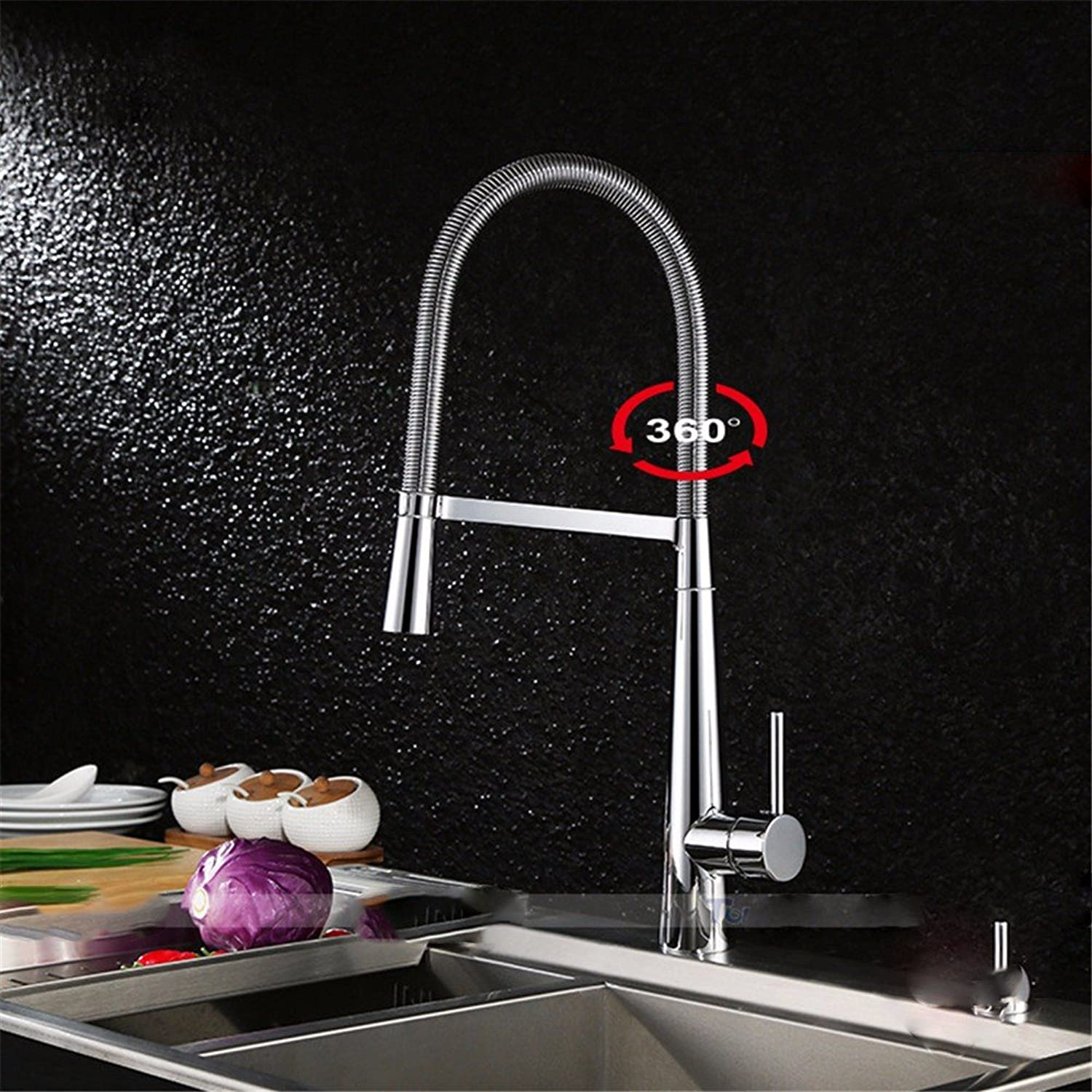 Bijjaladeva Bathroom Sink Vessel Faucet Basin Mixer Tap Brass mixing of hot and cold water ceramic bathroom sink kitchen sink washing dishes spring basin Chrome color swivel Faucet