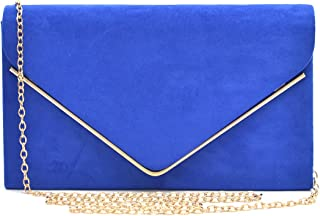 Dasein Women's Evening Clutch Bags Formal Party Clutches Wedding Purses Cocktail Prom Clutches
