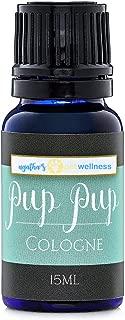 Agatha's Organic Pup Pup Dog Cologne ● Calming Blend of Lavender & Bergamot Essential Oils ● All Natural, Long-Lasting, Economical ● 15ml Bottle