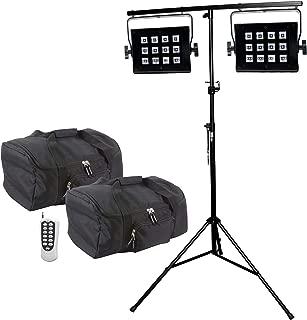 ADJ UV Flood 36 LED Blacklight Duo Package