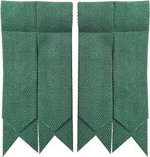 solid green kilt