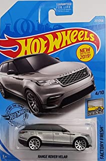 Hot Wheels 2019 Factory Fresh Range Rover Velar, 237/250 Silver