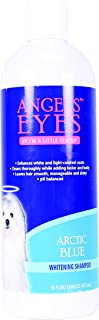 ANGELS' EYES Whitening Pet Shampoo, 16-Ounce, Arctic Blue