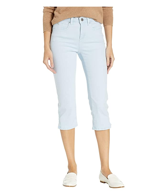 FDJ French Dressing Jeans Solid Cool Twill Olivia Capris in Sky (Sky) Women