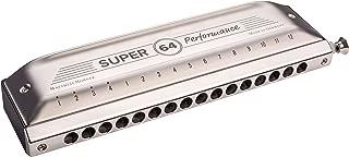 Hohner Super 64 Performance Chromatic Harmonica