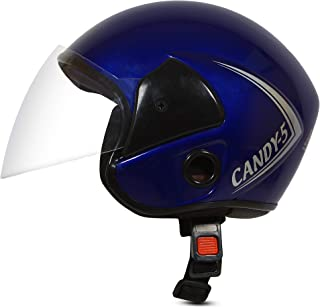 ACTIVE CANDY 5 Open Face Face Helmet for Kids from 3 to 6 Years (BLUE, Size-Extra Small) (BLUE)
