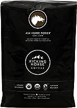 Kicking Horse Coffee, 454 Horse Power, Dark Roast, Whole Bean, 2.2 lb - Certified Organic, Fairtrade, Kosher Coffee