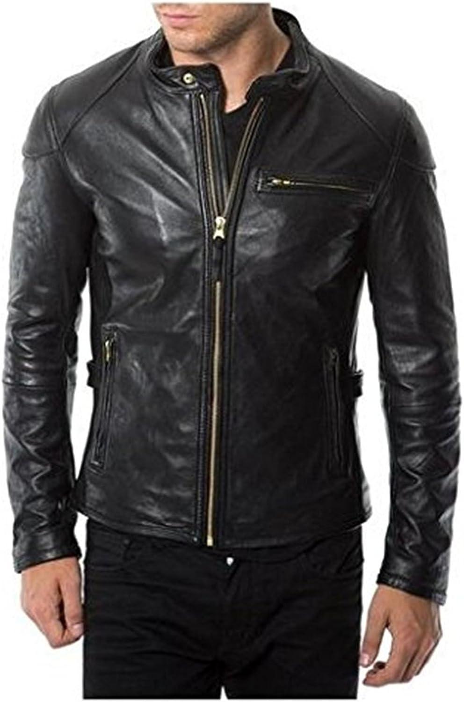 Laverapelle Men's Genuine Lambskin Leather Lowest price challenge Black Jacket Racer shop