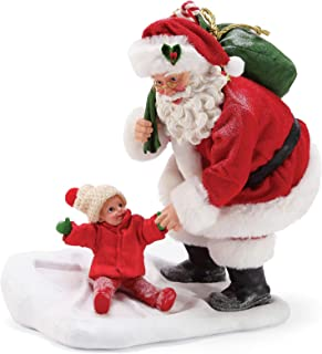 Department 56 Possible Dreams Santa Sports and Leisure Snow Angel Figurine, 9.5 Inch, Multicolor