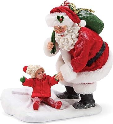 "Department 56 Possible Dreams Santas Sports and Leisure Snow Angel Figurine, 9.5"", Multicolor"