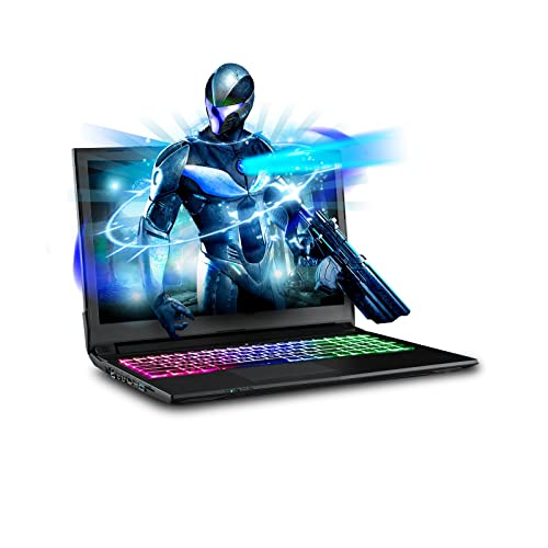 """SAGER NP7851 15.6"""" FHD 144Hz Gaming Laptop, Intel Core i7-8750H, NVIDIA"""