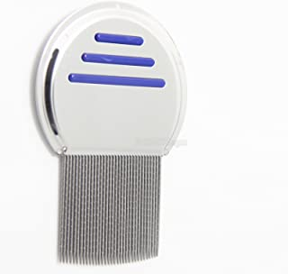 HERKLIN Terminator Lice and Nit Removal Comb Professional Grade Stainless Steel