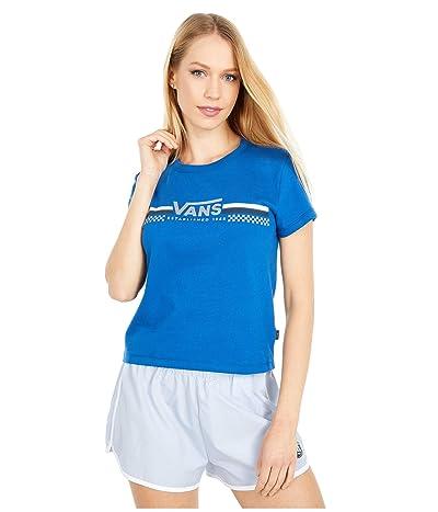 Vans Sporty Baby Tee (True Blue) Women